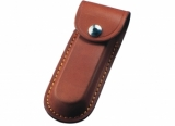 Leather Pouch in Tan